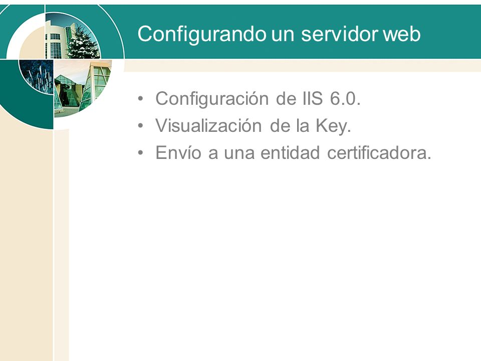 Configurando un servidor web