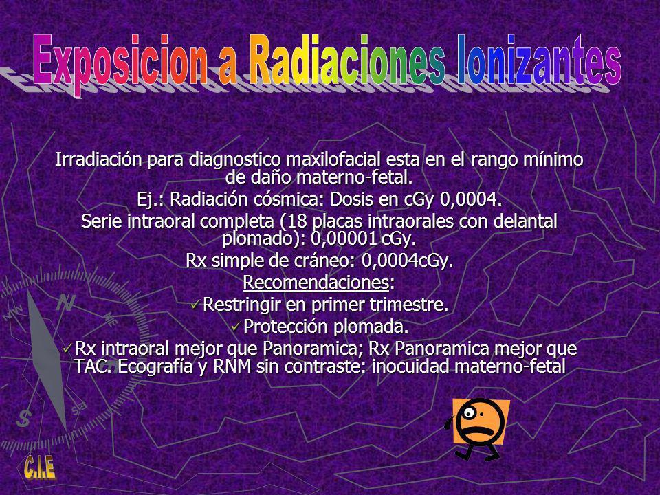Exposicion a Radiaciones Ionizantes