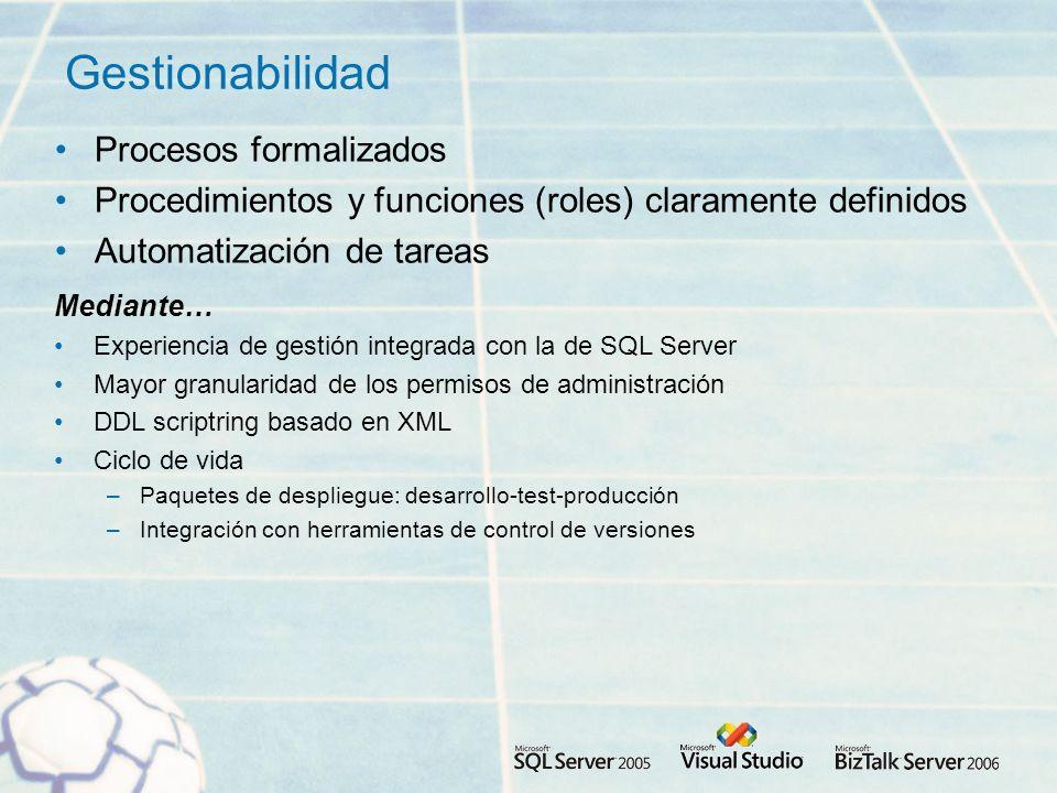 Gestionabilidad Procesos formalizados