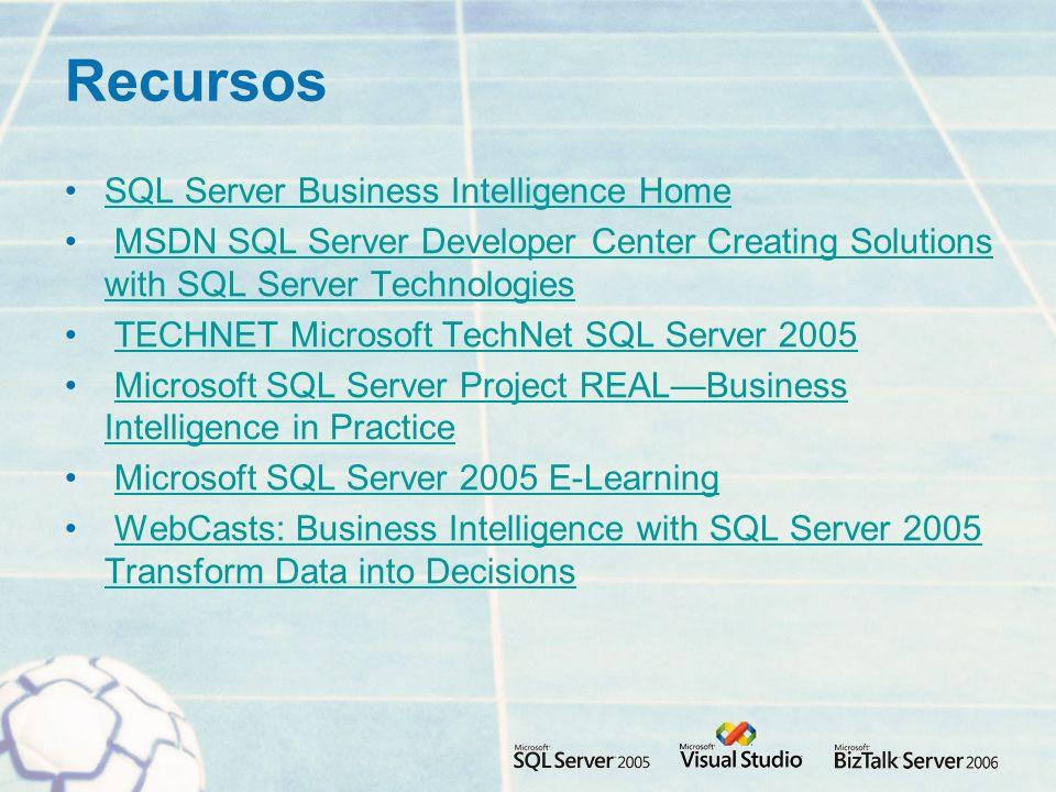 Recursos SQL Server Business Intelligence Home