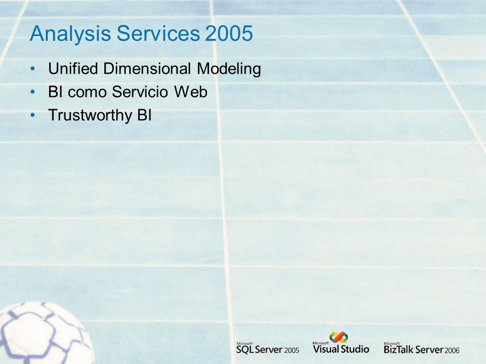 Analysis Services 2005 Unified Dimensional Modeling