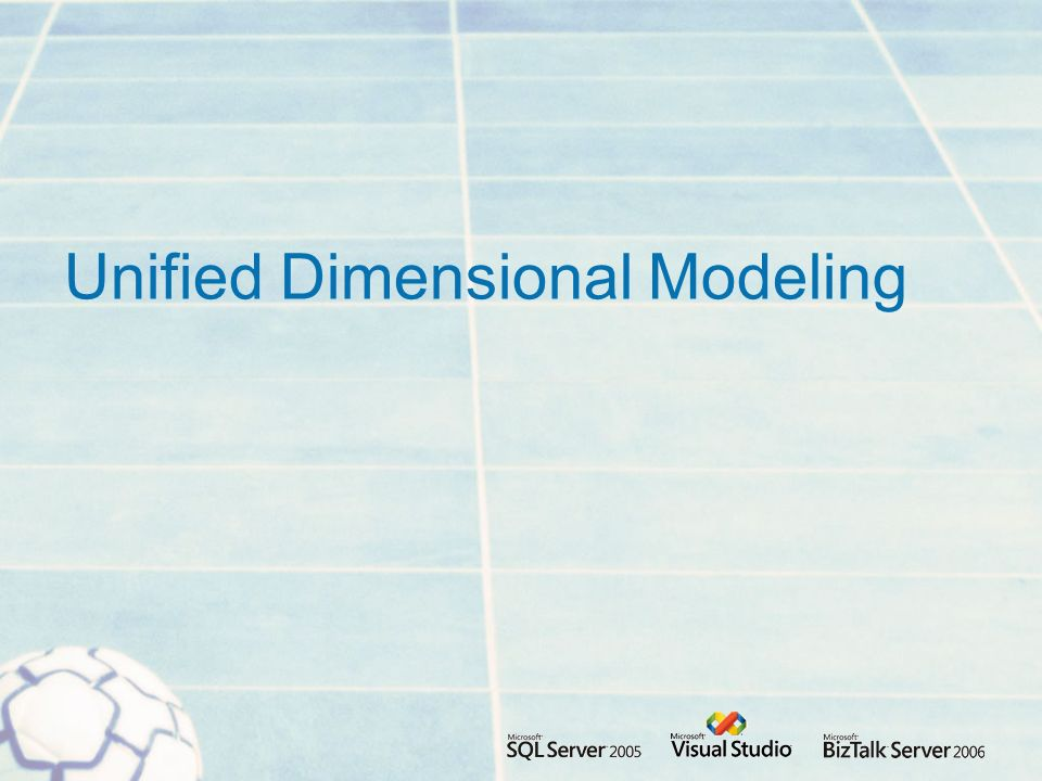 Unified Dimensional Modeling