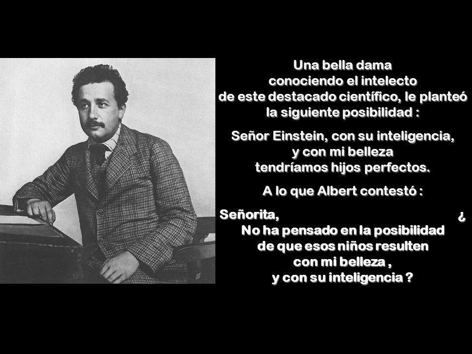 A lo que Albert contestó :