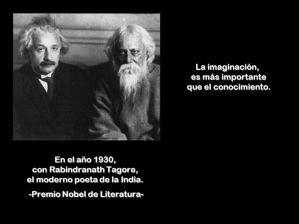 La imaginación, es más importante que el conocimiento.
