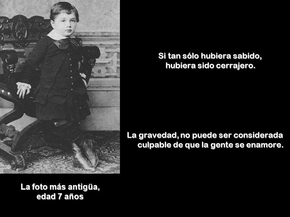 La foto más antigüa, edad 7 años