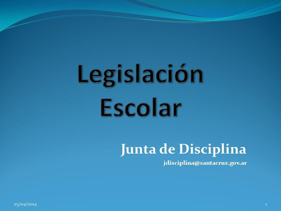 Junta de Disciplina jdisciplina@santacruz.gov.ar