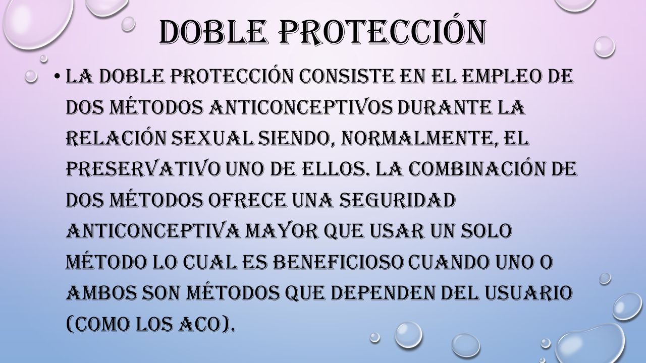 Doble protección