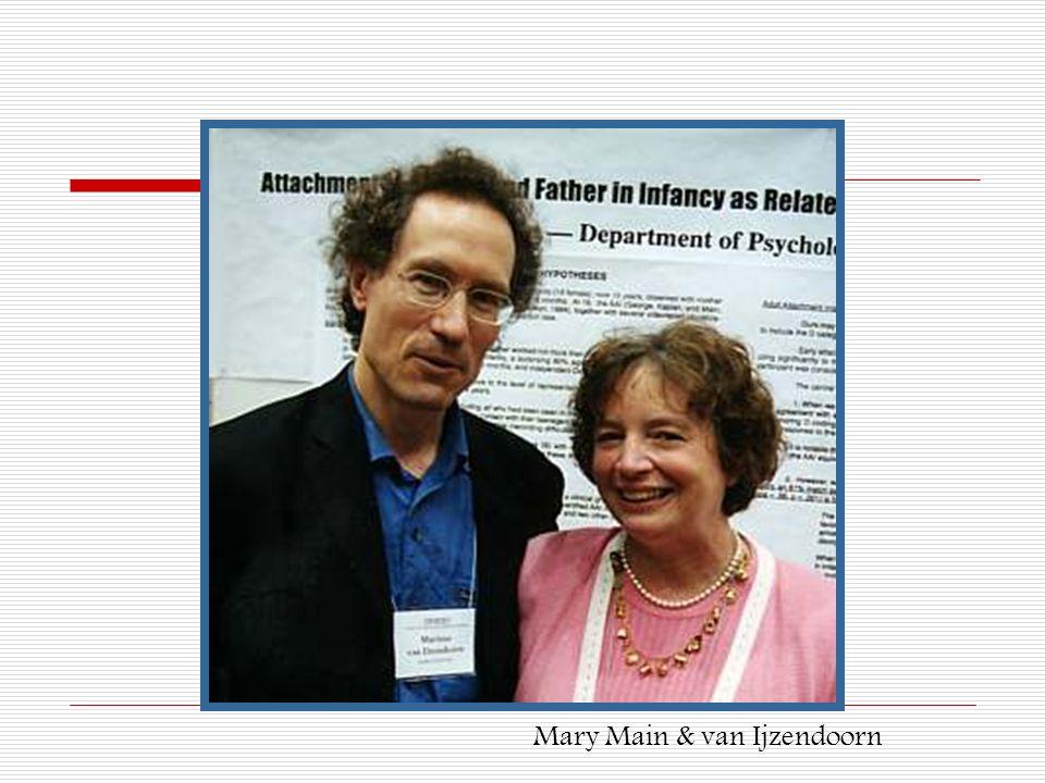 Mary Main & van Ijzendoorn