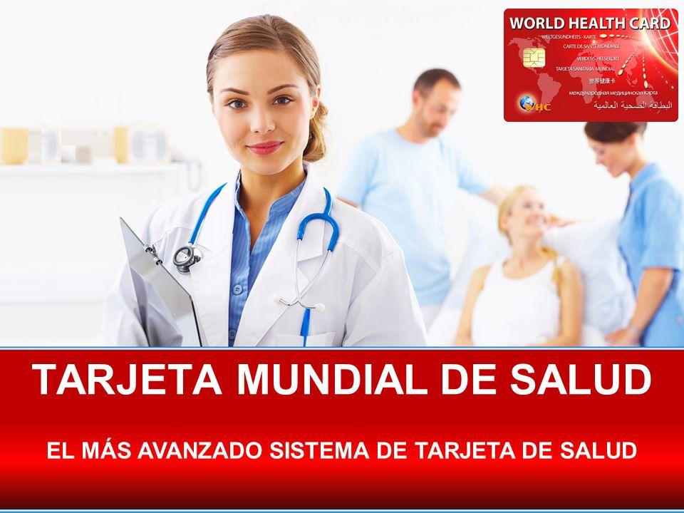 TARJETA MUNDIAL DE SALUD