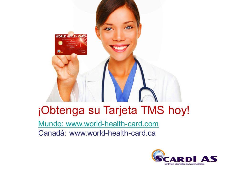 THE SYSTEM ¡Obtenga su Tarjeta TMS hoy!