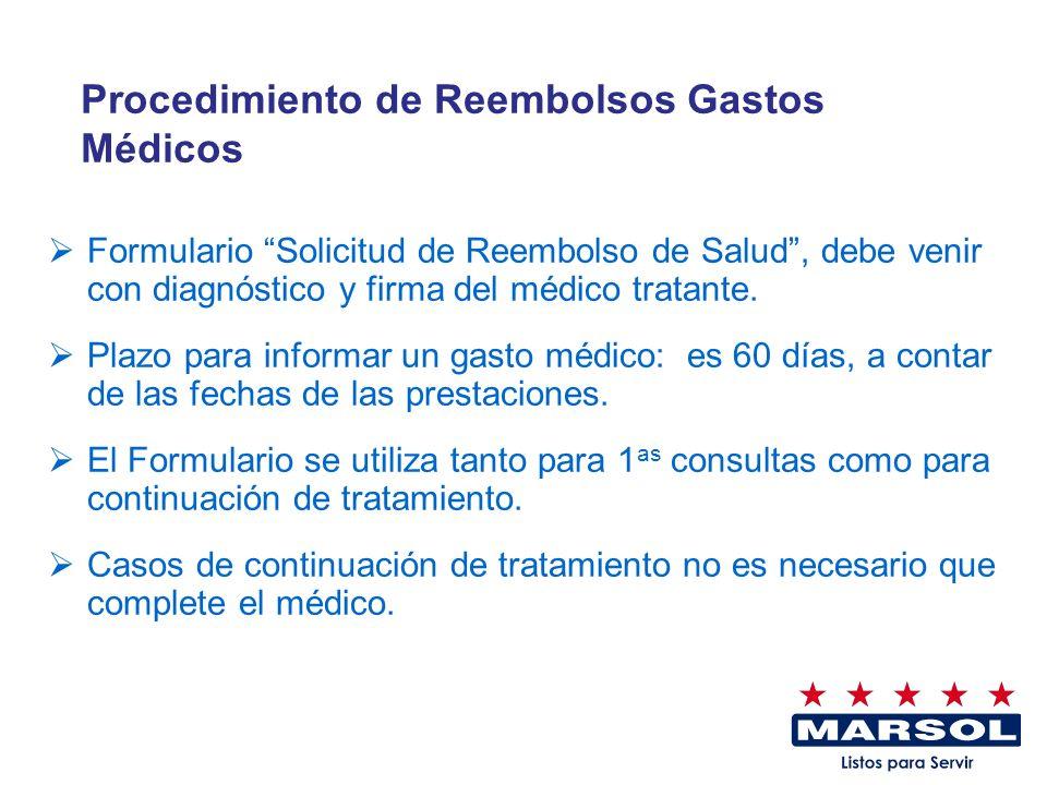 Procedimiento de Reembolsos Gastos Médicos
