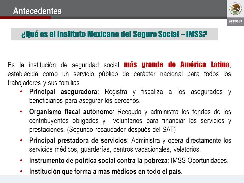 ¿Qué es el Instituto Mexicano del Seguro Social – IMSS