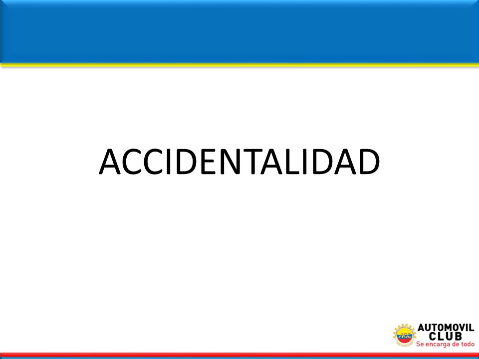 ACCIDENTALIDAD