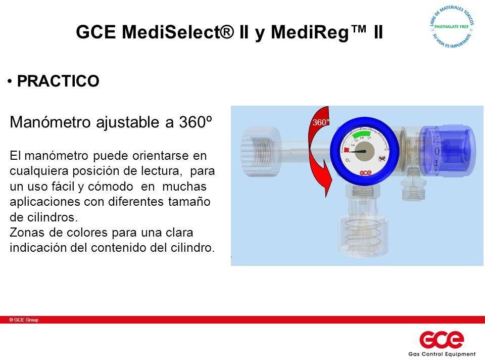 GCE MediSelect® II y MediReg™ II