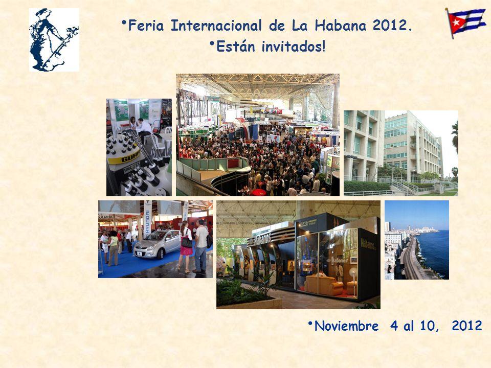 Feria Internacional de La Habana 2012.