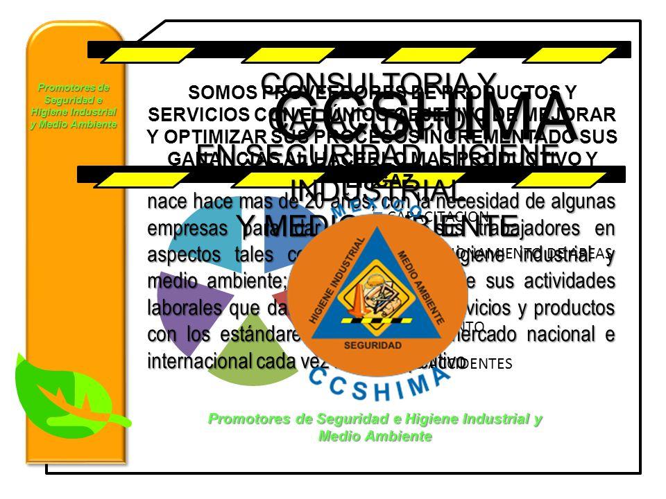 CCSHIMA CONSULTORIA Y CAPACITACION EN SEGURIDAD, HIGIENE INDUSTRIAL