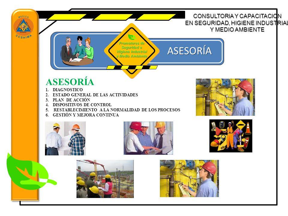 Promotores de Seguridad e Higiene Industrial y Medio Ambiente
