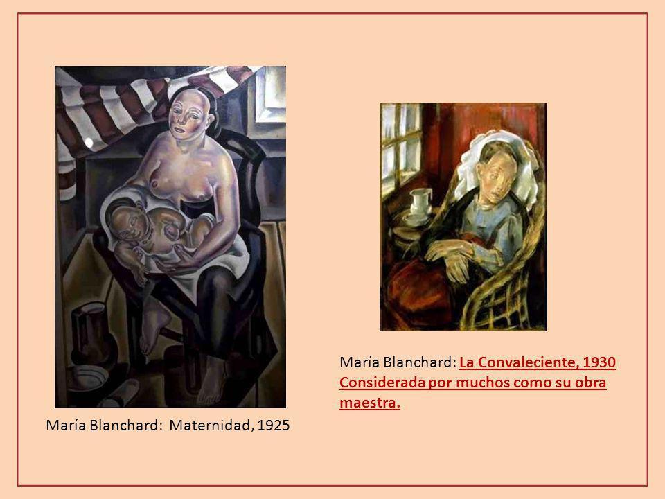 María Blanchard: La Convaleciente, 1930