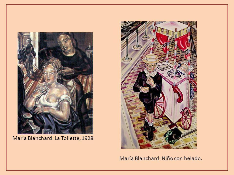 María Blanchard: La Toilette, 1928