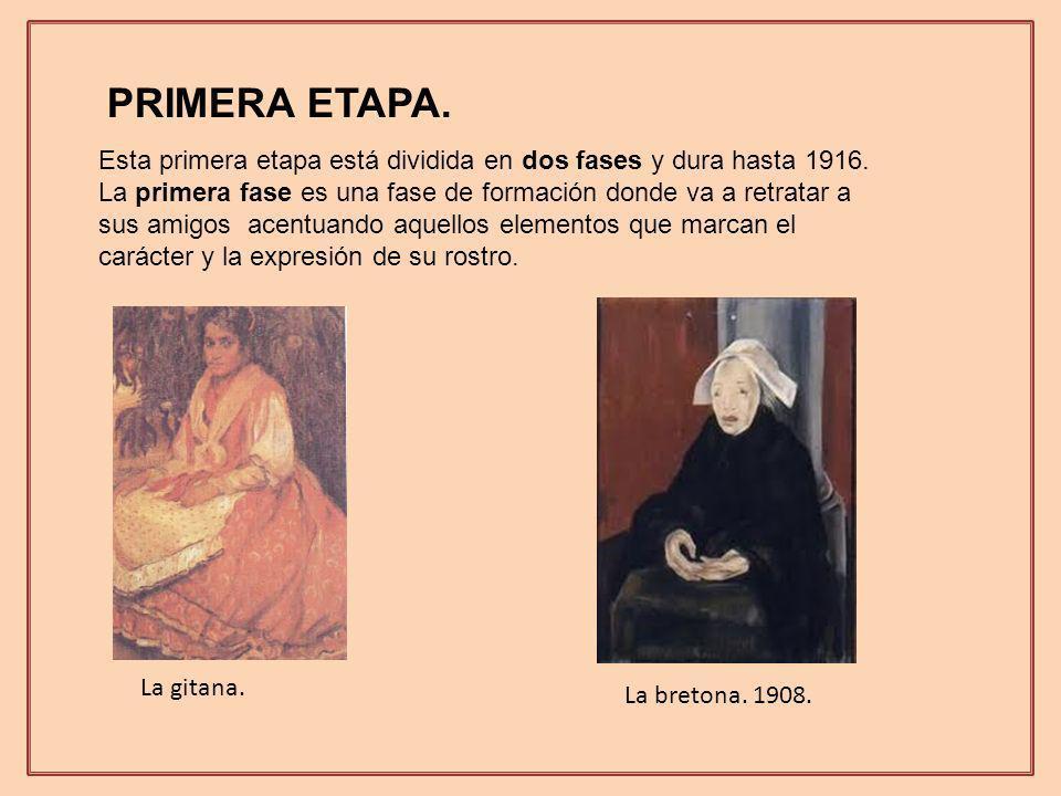 PRIMERA ETAPA. Esta primera etapa está dividida en dos fases y dura hasta 1916.