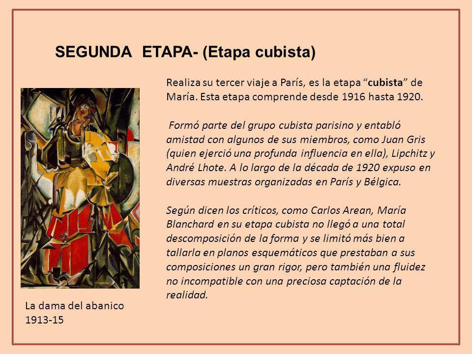 SEGUNDA ETAPA- (Etapa cubista)