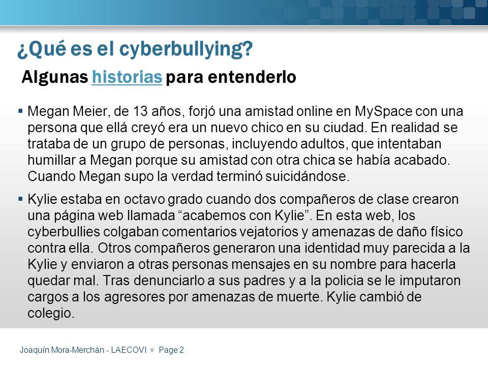 ¿Qué es el cyberbullying