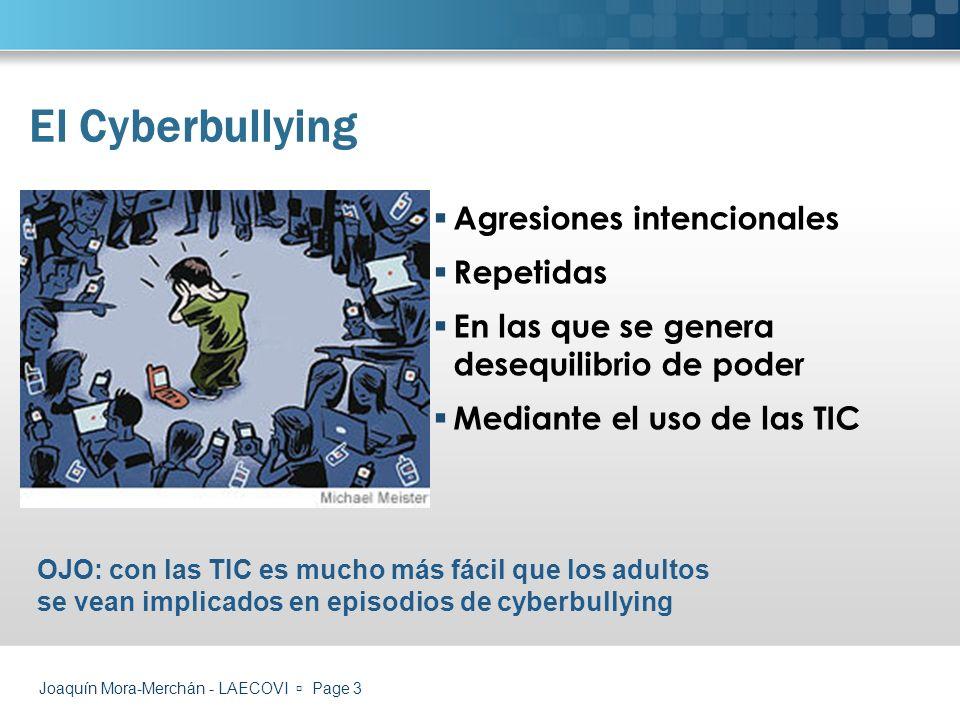 El Cyberbullying Agresiones intencionales Repetidas