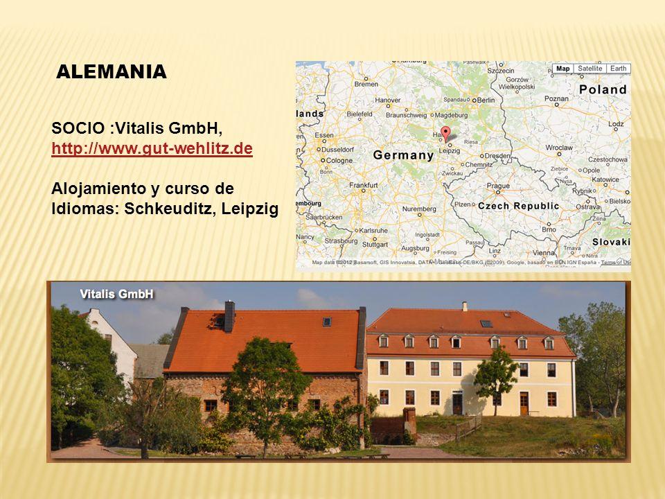 ALEMANIA SOCIO :Vitalis GmbH, http://www.gut-wehlitz.de