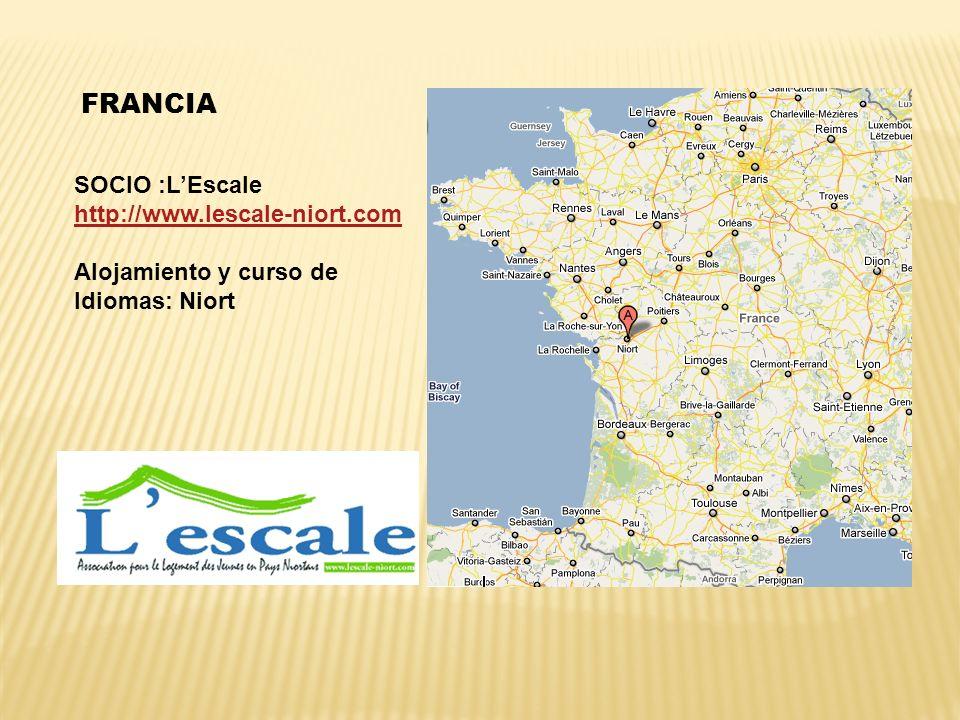 FRANCIA SOCIO :L'Escale http://www.lescale-niort.com