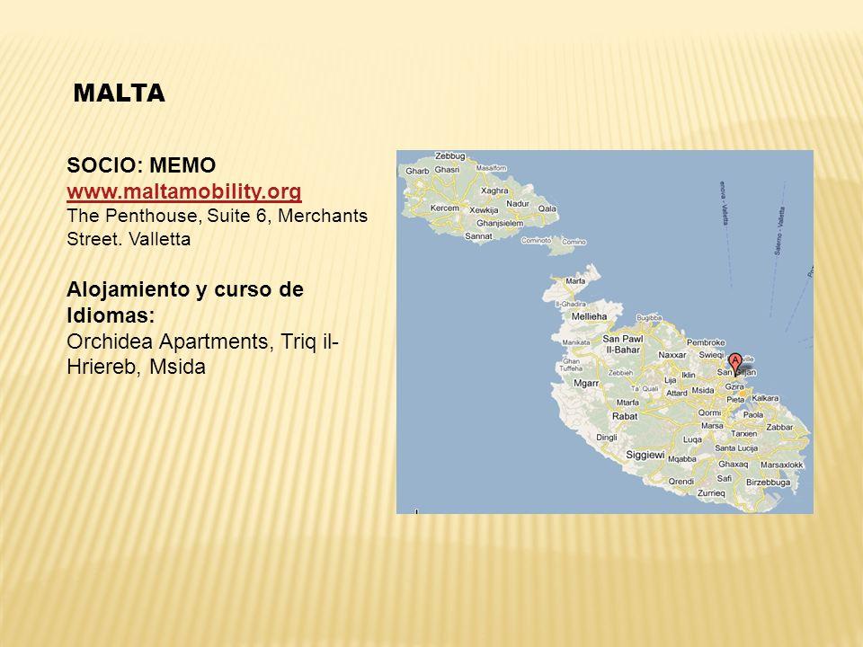MALTA SOCIO: MEMO www.maltamobility.org