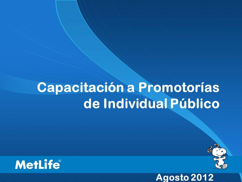 Capacitación a Promotorías de Individual Público