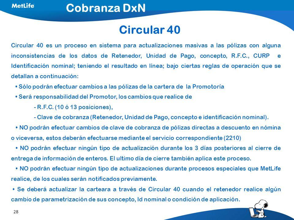 Cobranza DxN Circular 40.