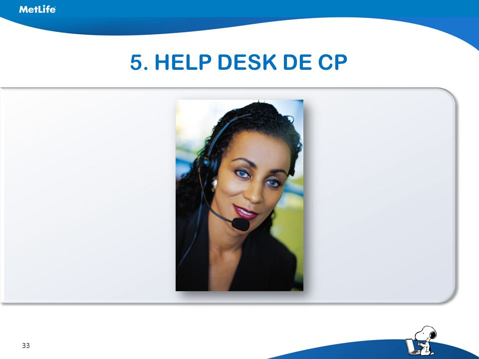 5. HELP DESK DE CP
