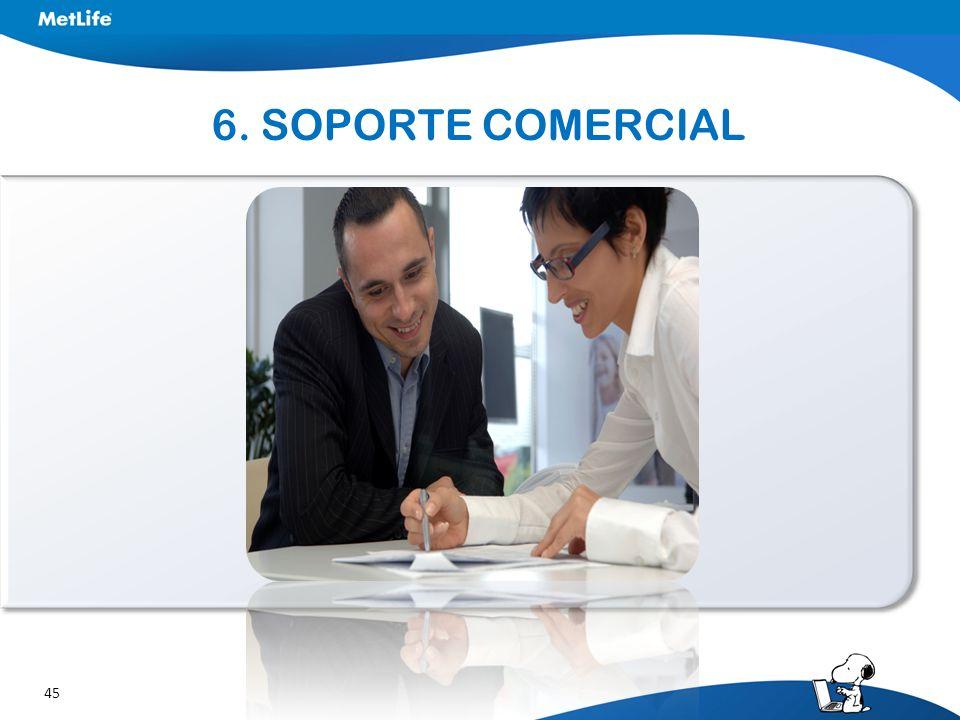 6. SOPORTE COMERCIAL
