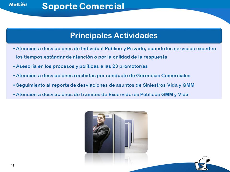 Soporte Comercial