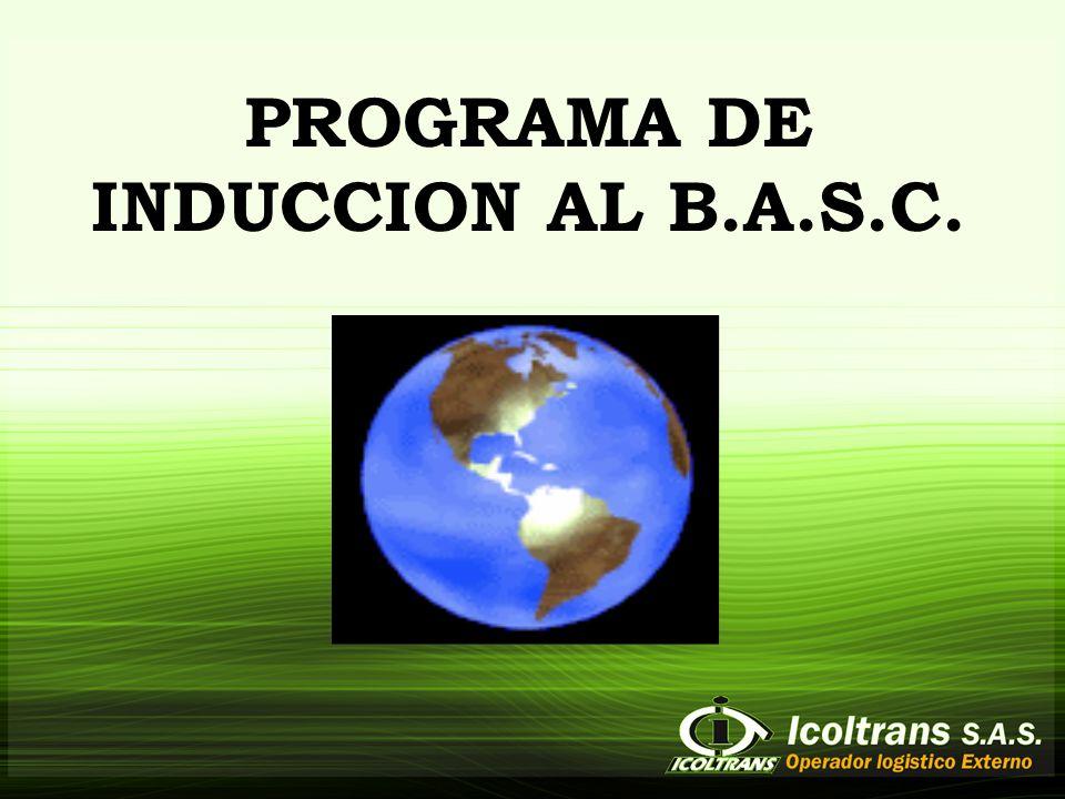 PROGRAMA DE INDUCCION AL B.A.S.C.