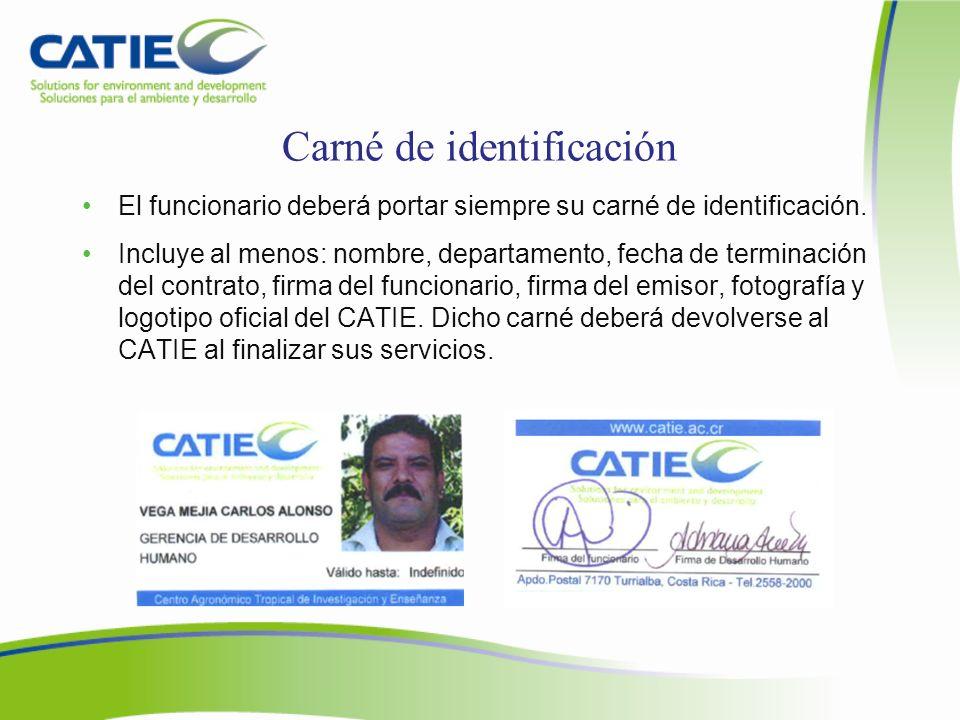 Carné de identificación