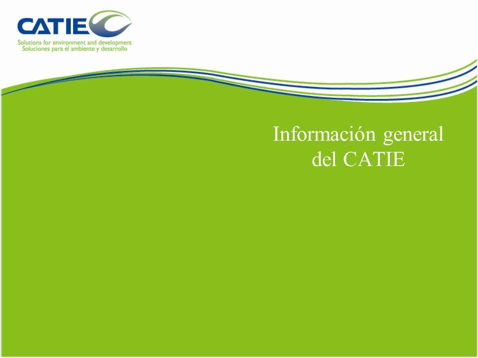 Información general del CATIE