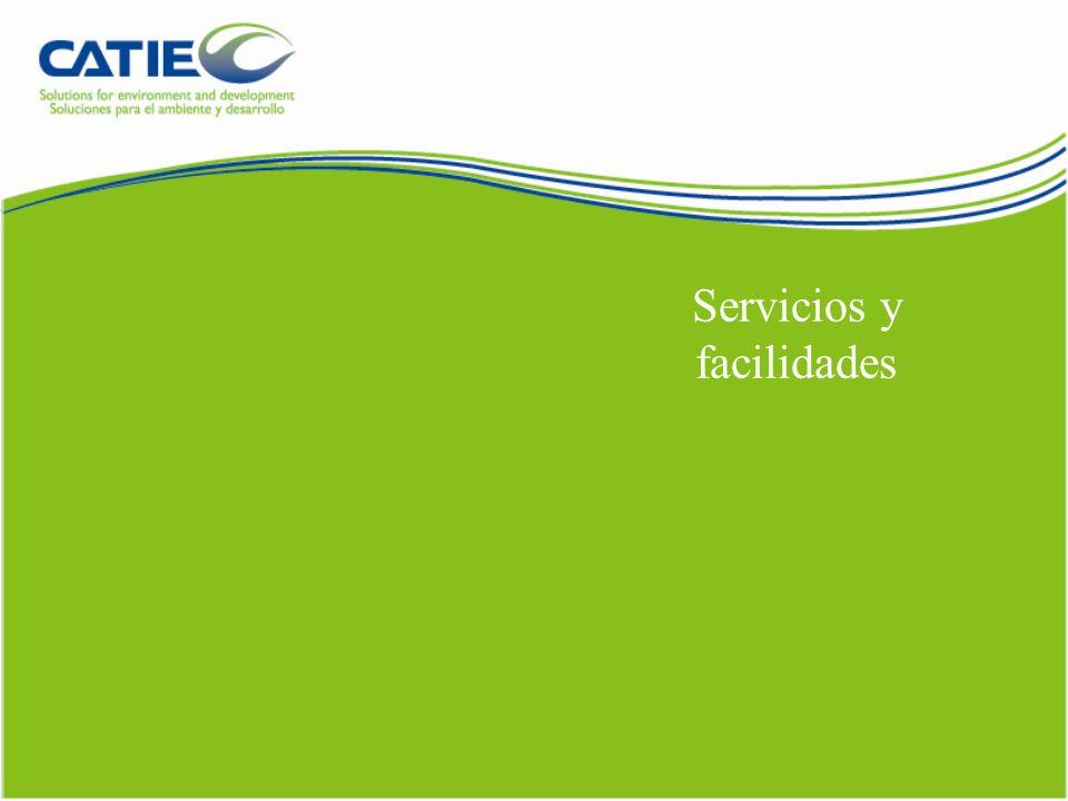 Servicios y facilidades