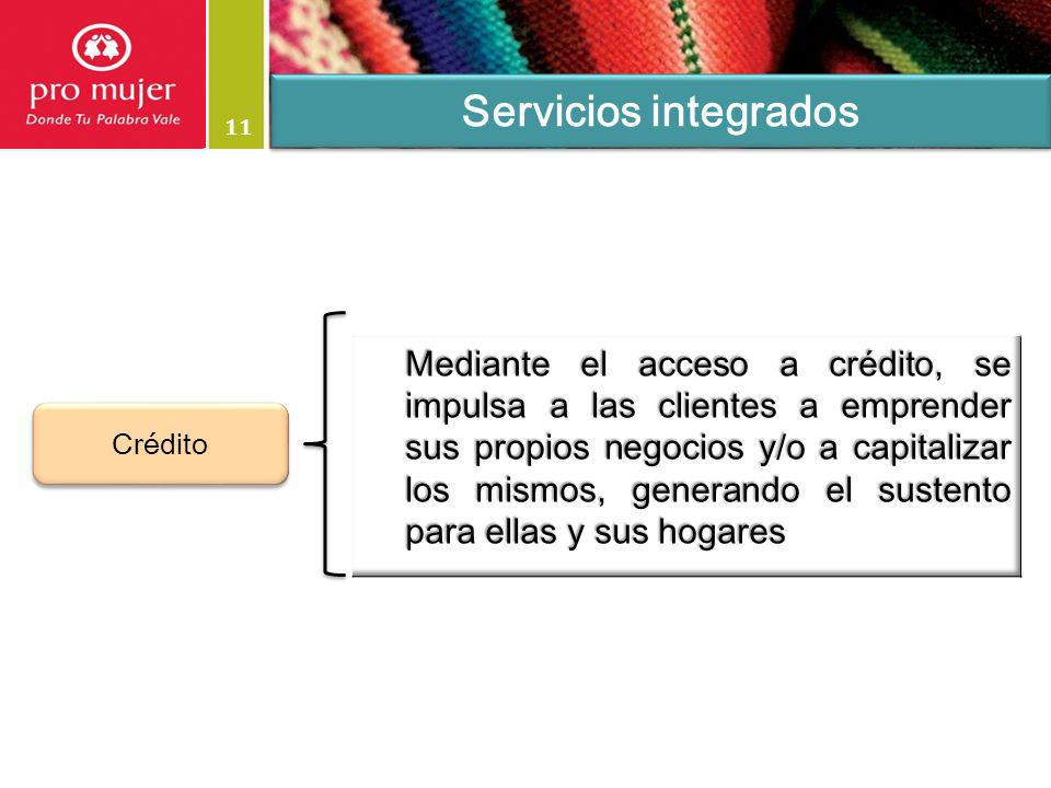 Servicios integrados 11.