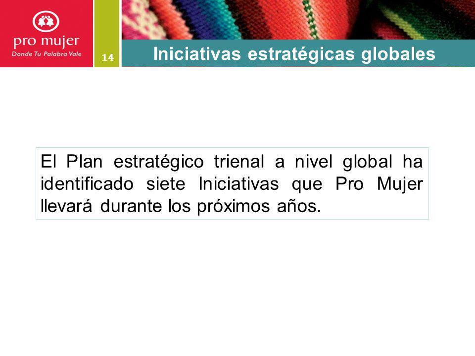 Iniciativas estratégicas globales