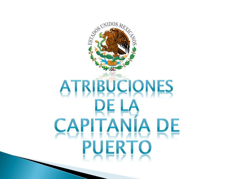 atribuciones de la Capitanía de Puerto