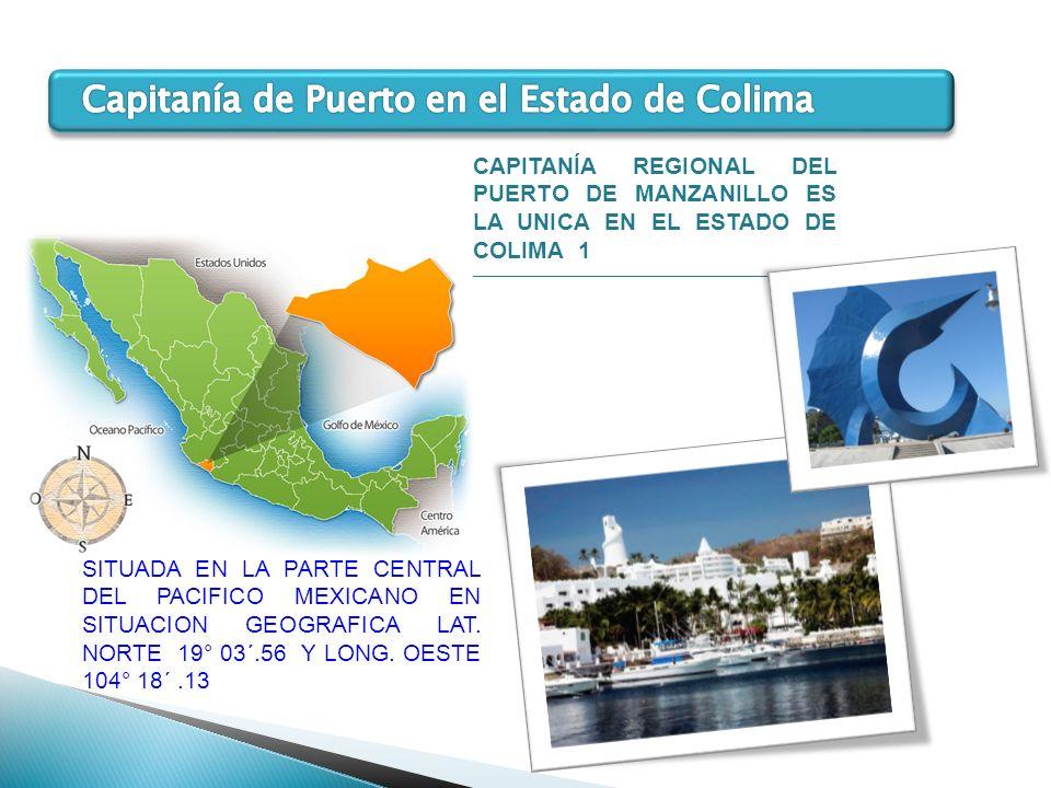 Capitanía de Puerto en el Estado de Colima