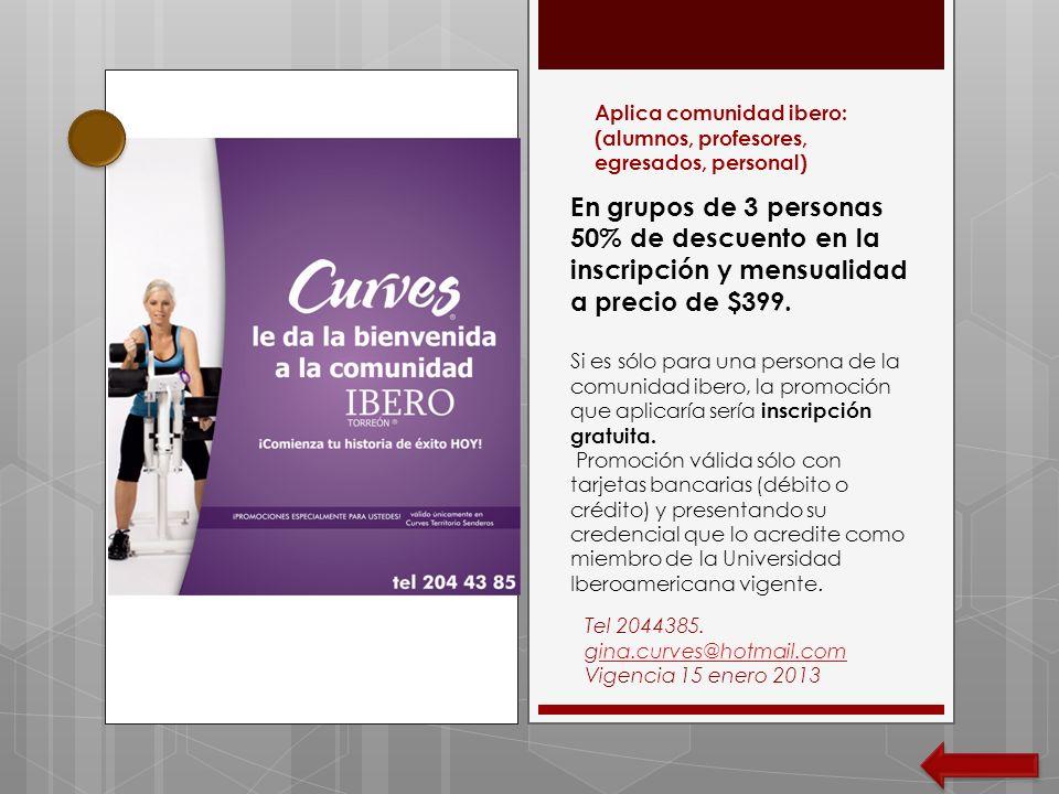 Aplica comunidad ibero: (alumnos, profesores, egresados, personal)