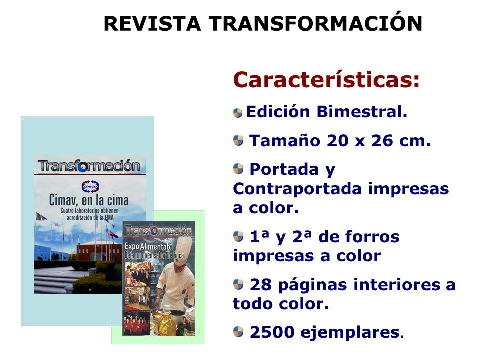 REVISTA TRANSFORMACIÓN