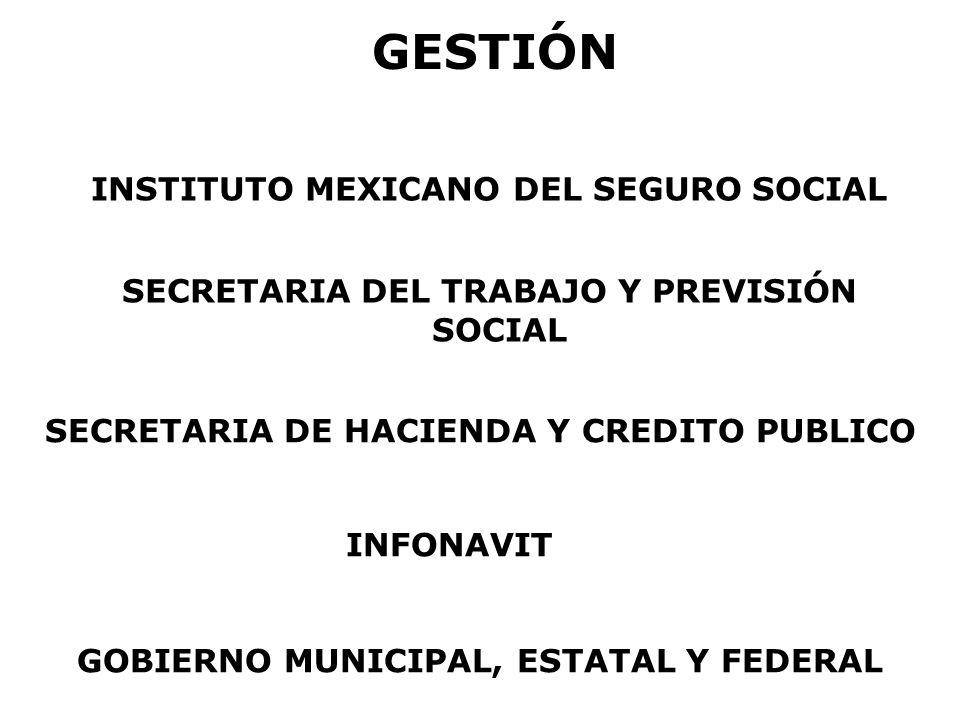 GESTIÓN INSTITUTO MEXICANO DEL SEGURO SOCIAL