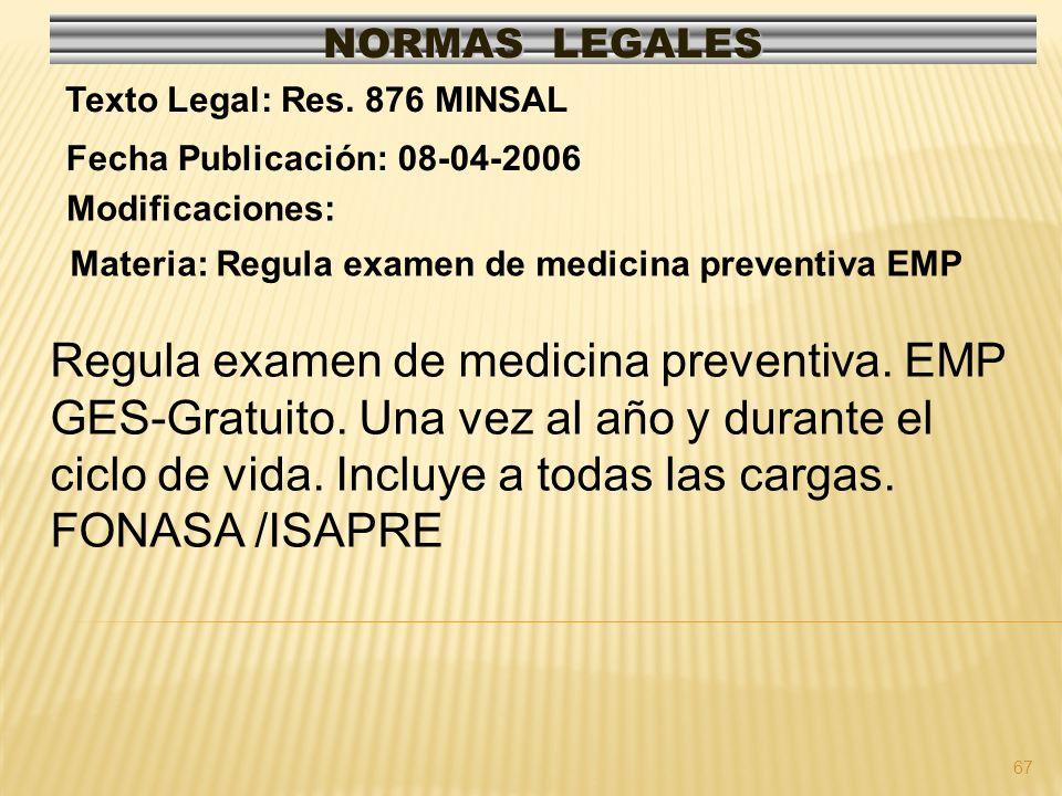 Regula examen de medicina preventiva. EMP