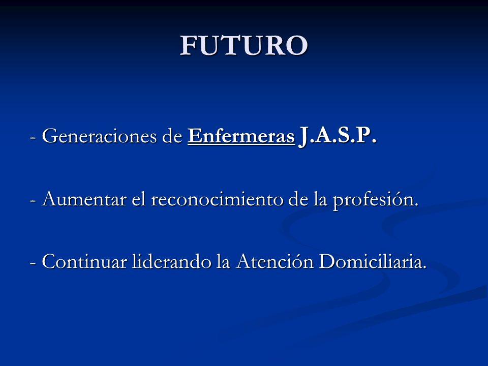 FUTURO - Generaciones de Enfermeras J.A.S.P.