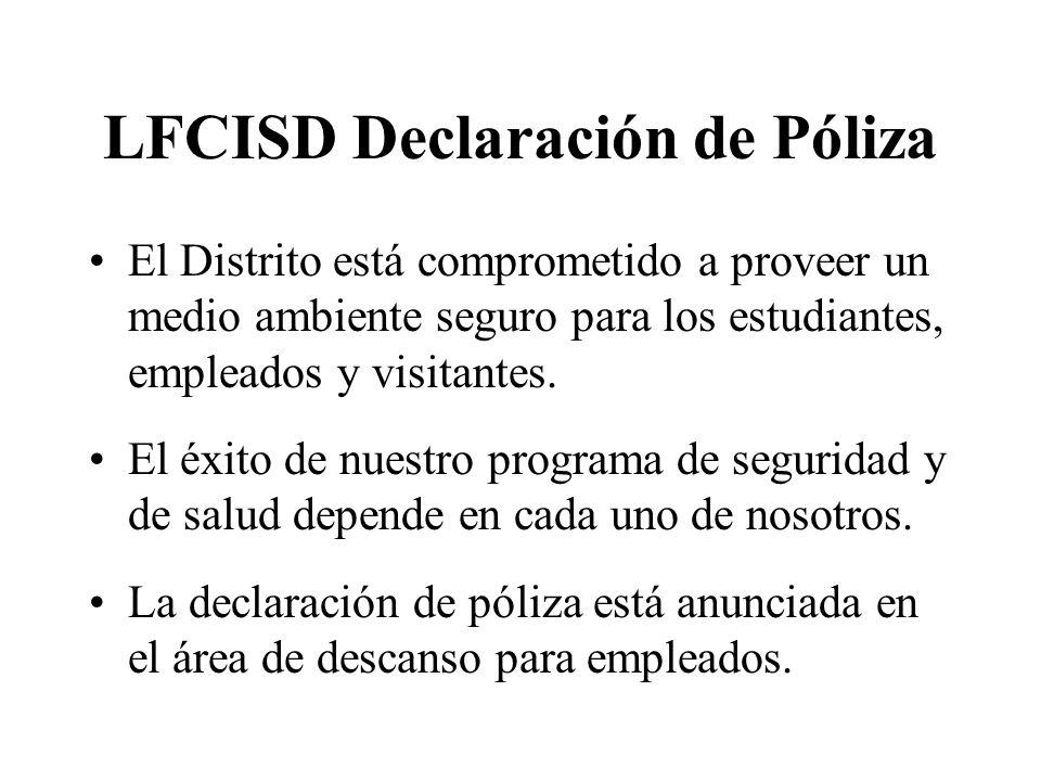 LFCISD Declaración de Póliza