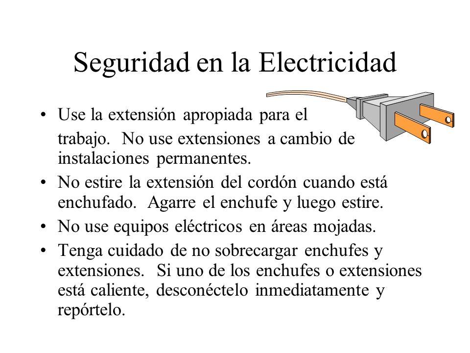 Seguridad en la Electricidad